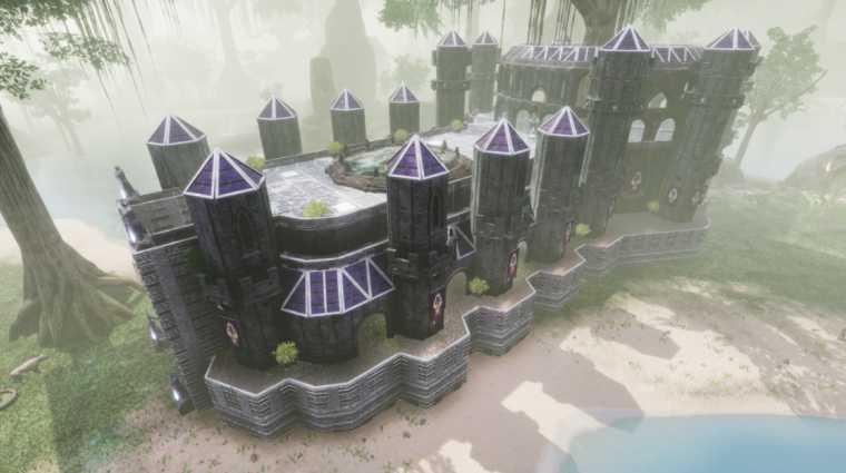 Conan Exiles bauideen Elfen Kathedrale