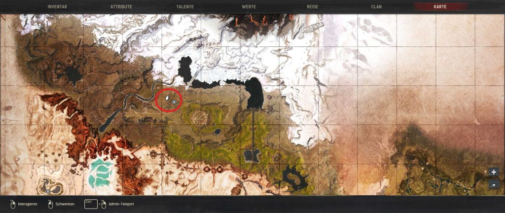 Conan Exiles beste Baugründe Guide Gottesklauenweg Standort