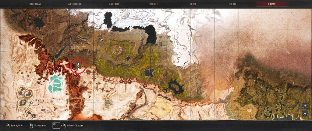 Conan Exiles beste Baugründe Guide Tundra Standort