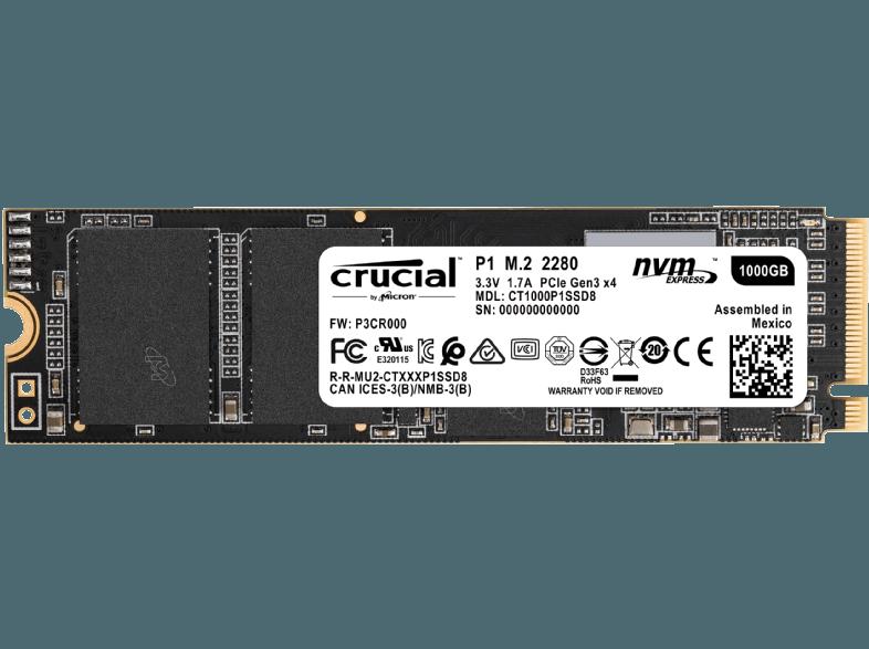Crucial P1 M.2-SSD