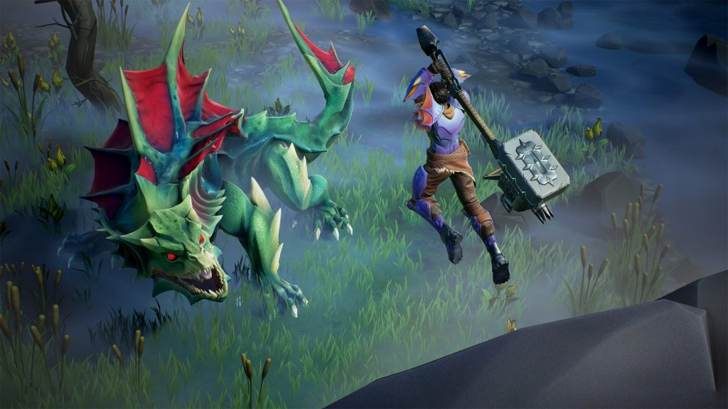 Dauntless Screenshot Slayer bekämpft Drask