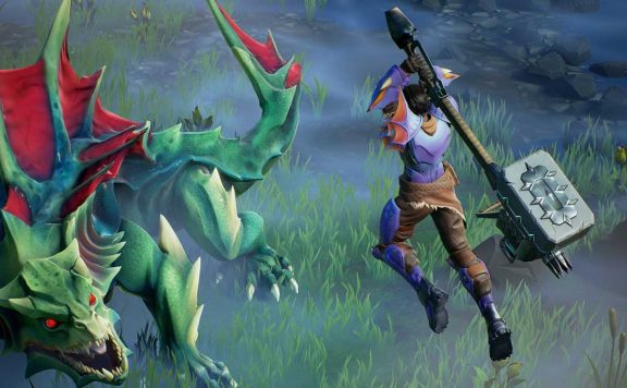 Dauntless Screenshot Slayer bekämpft Drask titel
