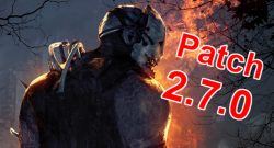 Dead by Daylight Patch 270 title 1140x445