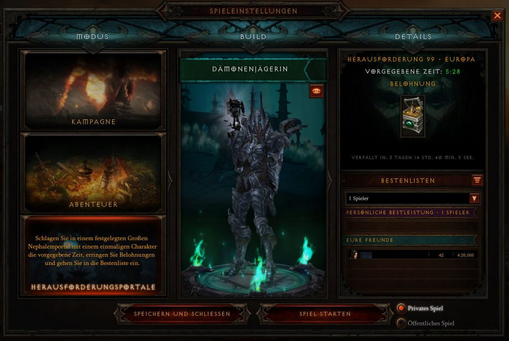 Diablo 3 Herausforderungsportal S17 Blurr