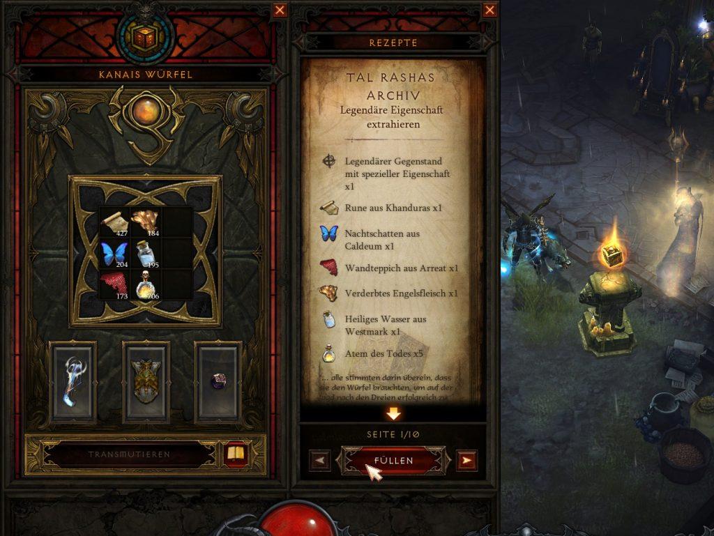 Diablo 3 Kanais Würfel 3