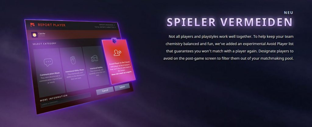Dota 2 Battle pass Avoid Player vom Battle Pass