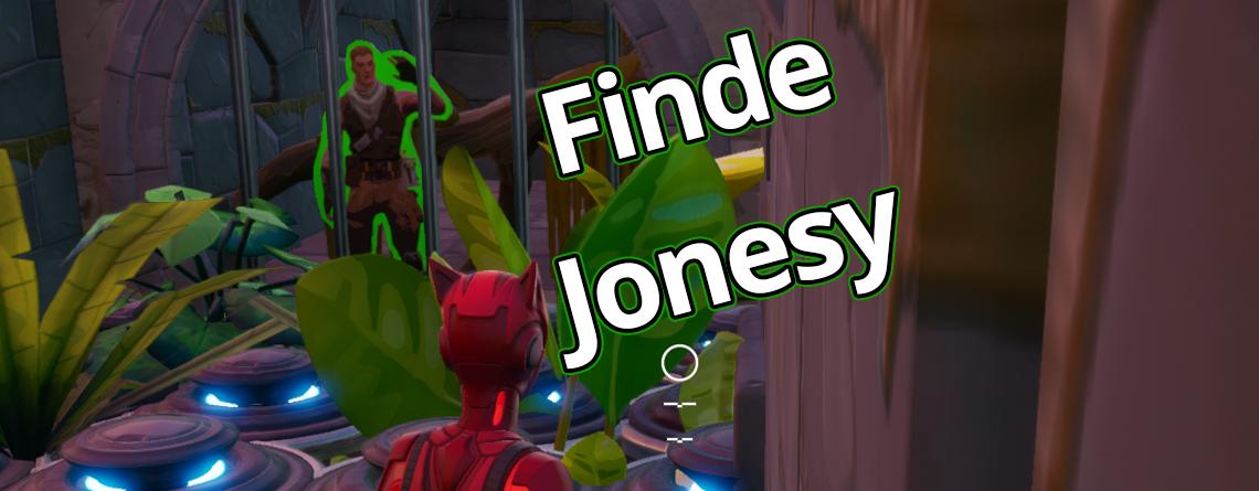 Fortnite: Finde Jonesy – Versteck bei Zaun und Kanalisation