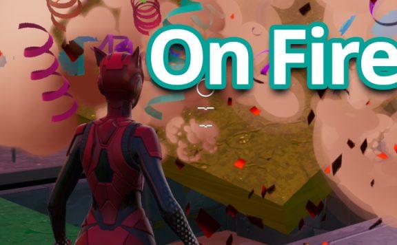 FN On Fire Titel