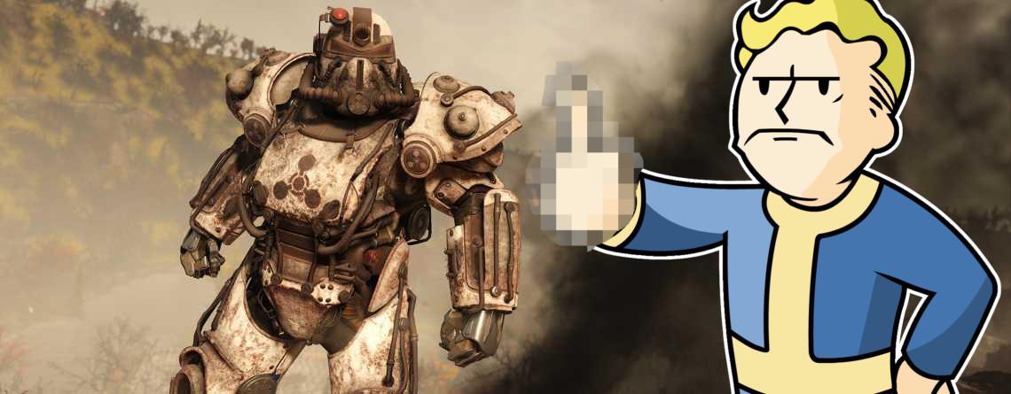 Fallout 76 hat alle 4 Apokalyptischen Reiter als Skins – Aber einer enttäuscht mich