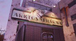 Fallout 76 Arktos Pharma Eingang Titel