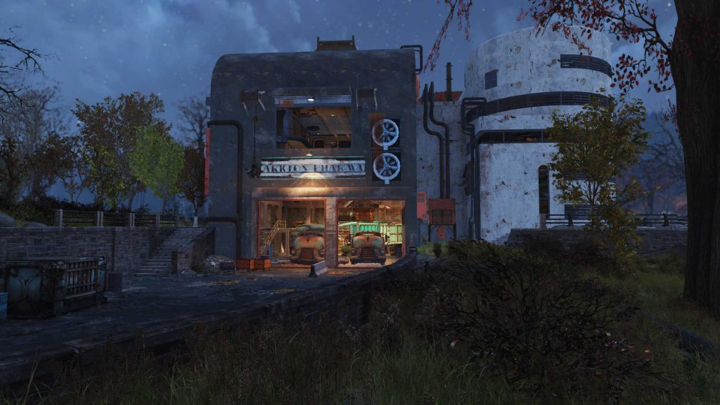 Fallout 76 Arktos Pharma Gebäude
