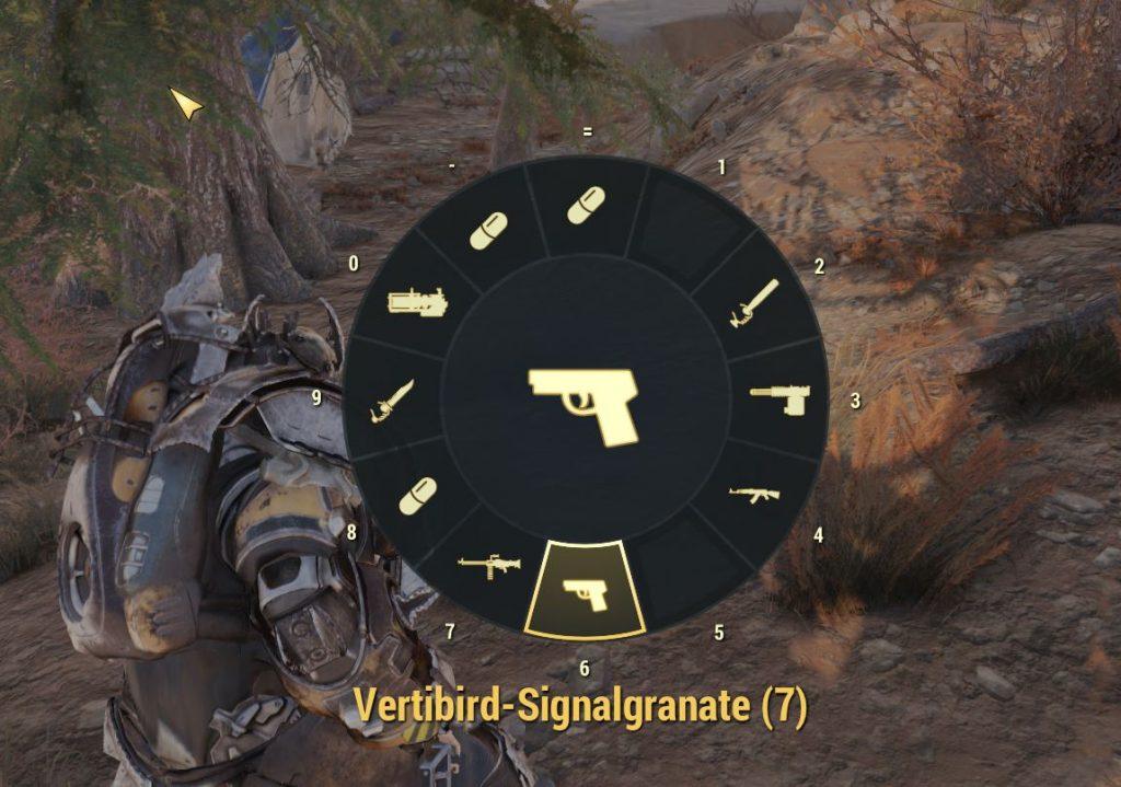 Fallout 76 Favoriten Rad