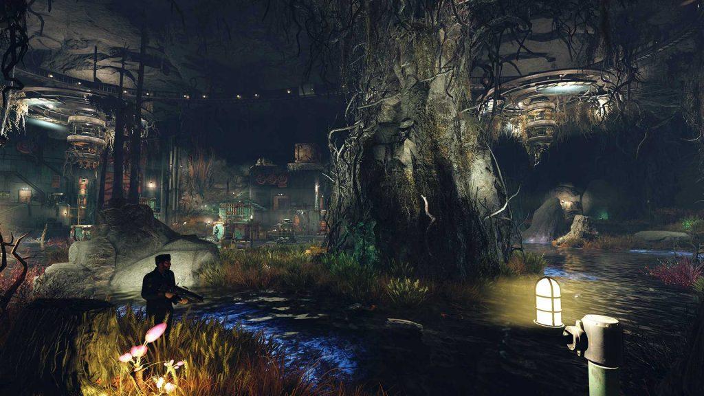 Fallout 76 Projekt Paradies Screenshot vom Labor