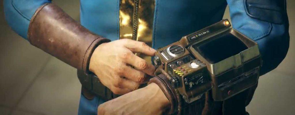 Fallout76 Pip Boy titel