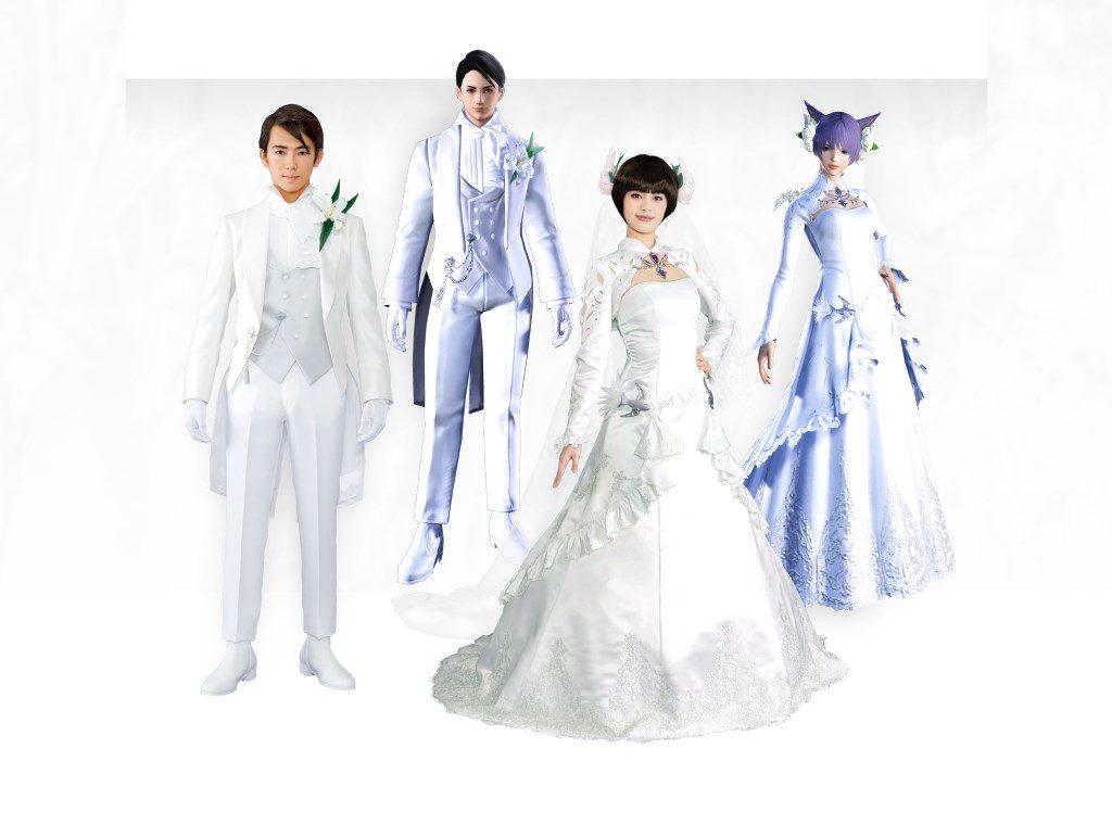 Final Fantasy 14 Hochzeit Kleidung