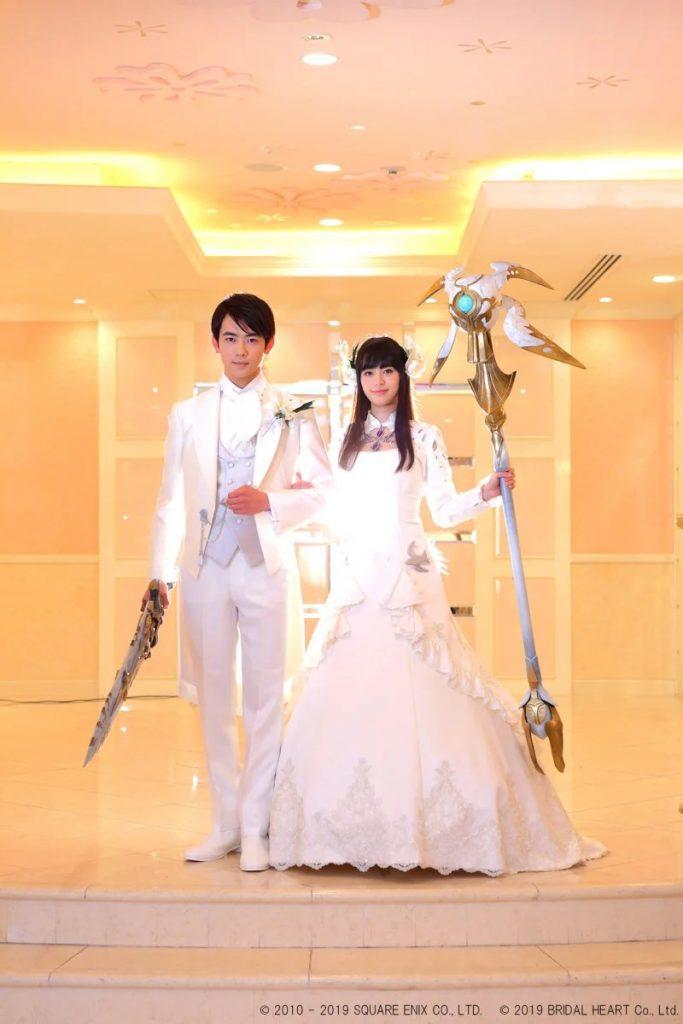 Final Fantasy 14 Hochzeit Repliken