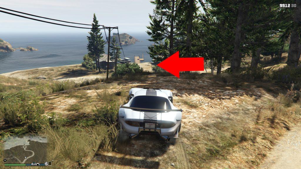 GTA 5 Online Zeitrennen Küste zu Küste Ziel