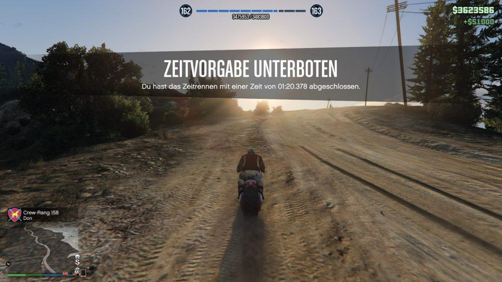 GTA Online Calafia Way Strecke Win