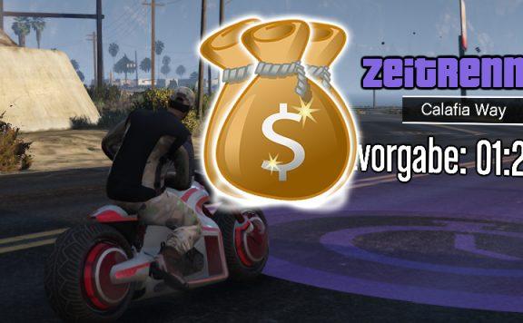 GTA Online Zeitrennen Titel