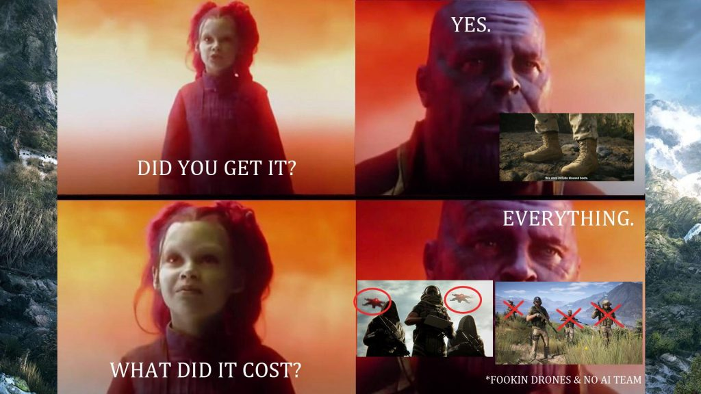 Ghost Recon Breakpoint Meme Thanos