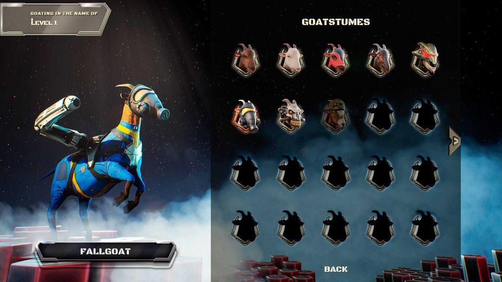 Goat of Duty Goatsumes Fallgoat