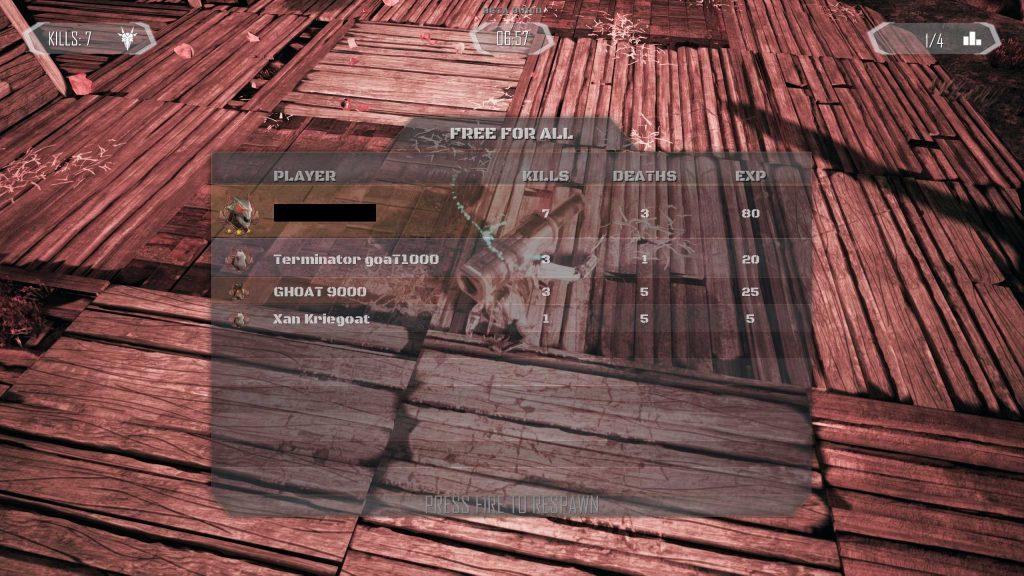 Goat of Duty Leaderboard 2