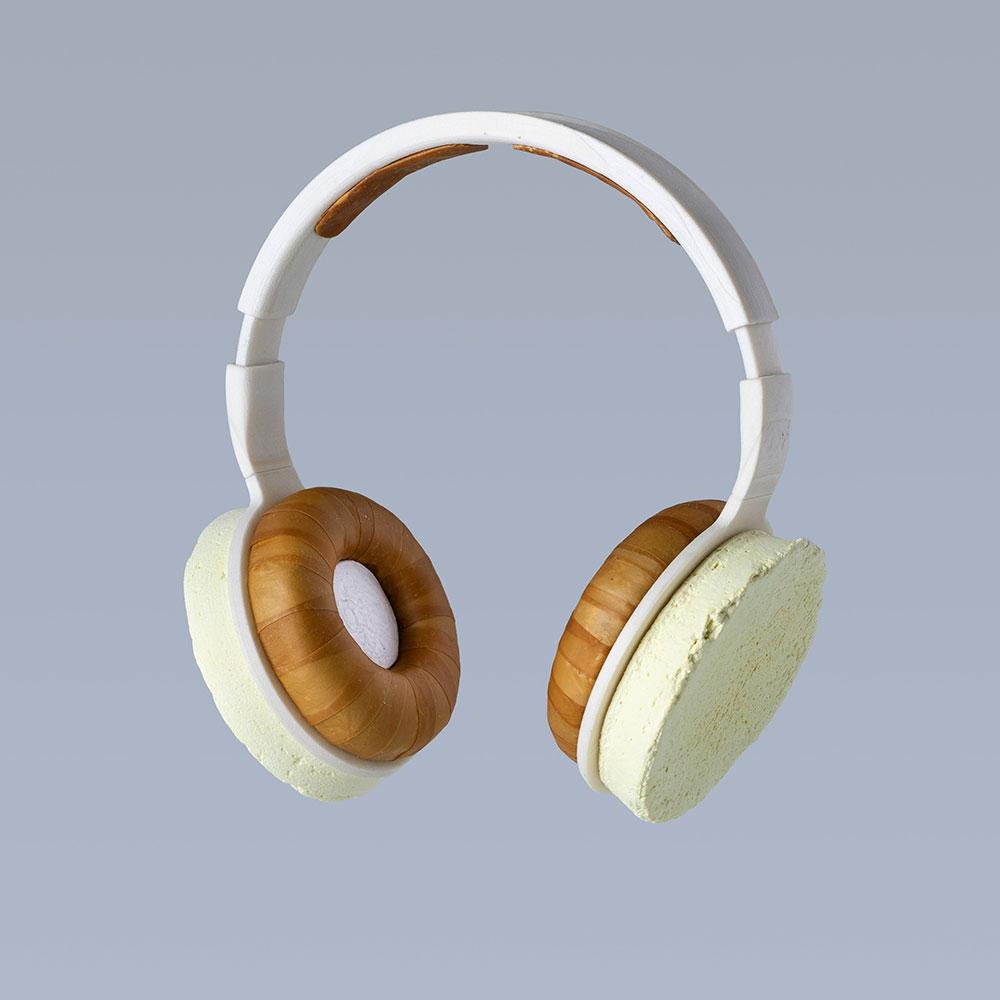 Korvaa Kopfhörer aus Pilzen