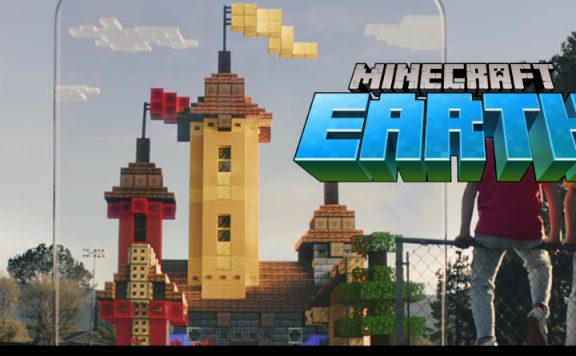 Minecraft Earth title 1140×445