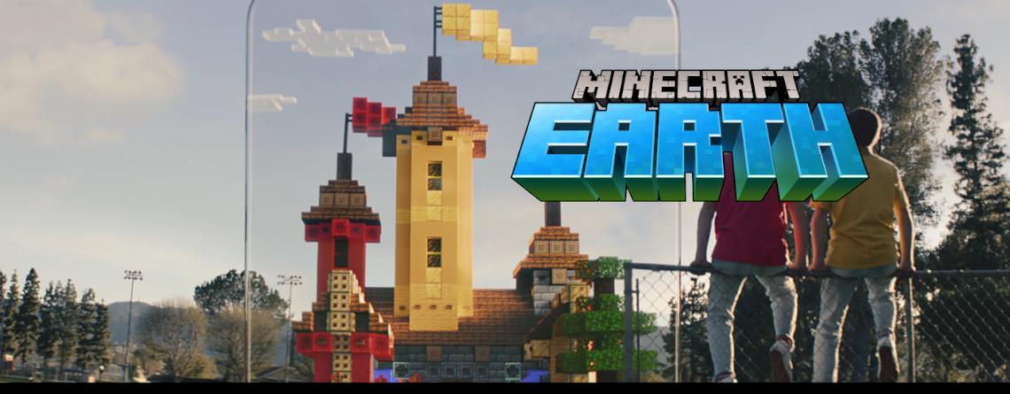 """Minecraft wie Pokémon GO – Das ist das neue Mobile-Game """"Minecraft Earth"""""""