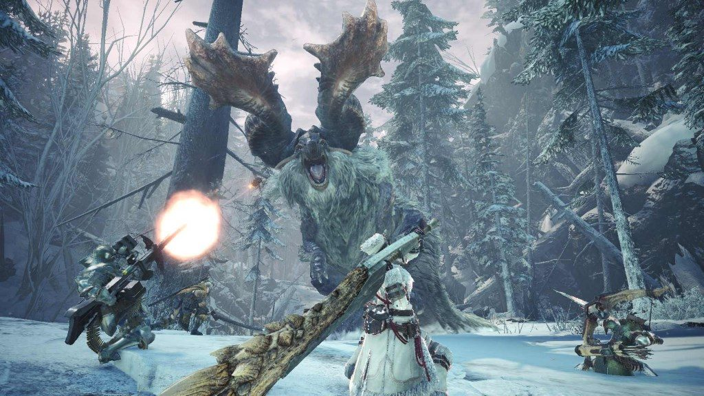 Monster Hunter World Iceborn Screenshot