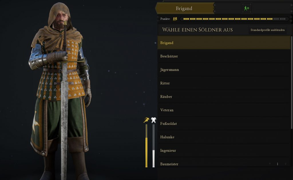 Mordhau Screenshot Brigand mit großer Waffe
