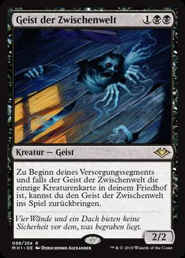 Magic the Gathering - Geist der Zwischenwelt - Modern: Horizonte