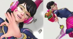 Overwatch Dva Skin anniversary 3 break the internet kek title 1140×445