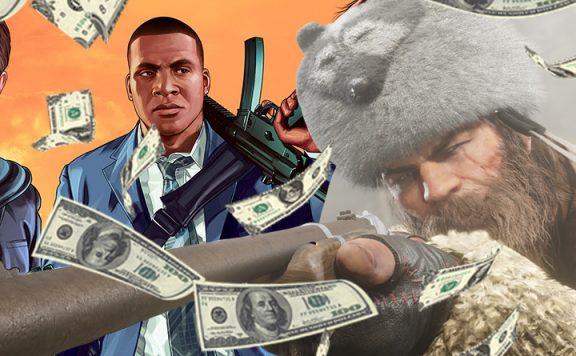RDR 2 GTA Online TItel Geld