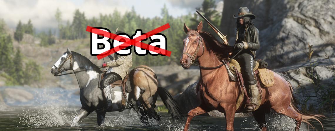 Red Dead Online: Beta endet in den nächsten 6 Wochen – Lohnt es sich dann?
