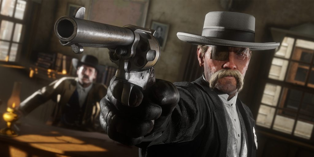 Red Dead Online Outlaw Pistole