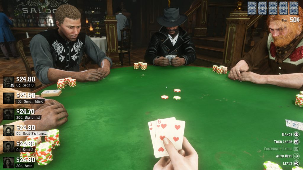 Red Dead Online Poker