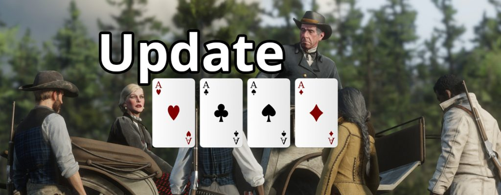 Red Dead Online Update Titel Poker