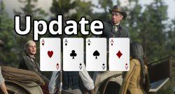 Red Dead Online Update Titel Poker
