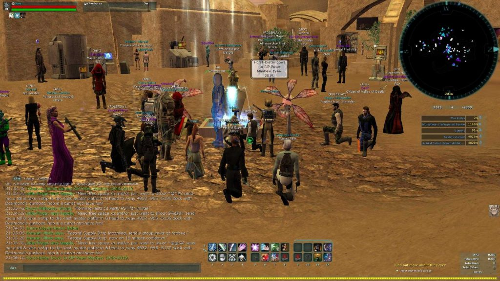 Star Wars Galaxies Requiem an Peter Mayhew