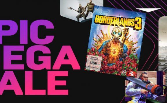 Titelbild Epic Mega Sale