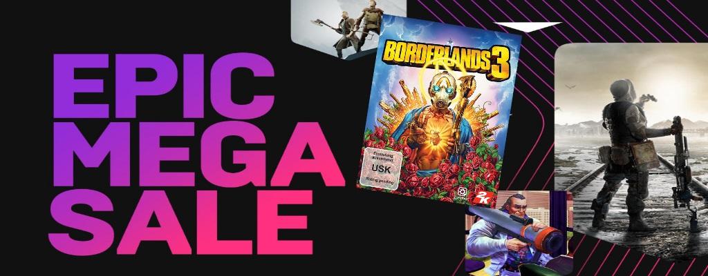 Epic greift Steam mit Mega Sale an: Alles im Store ab 15€ ist nun 10€ günstiger