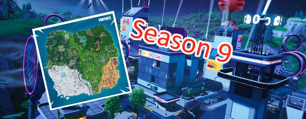 Fortnite: So sieht die neue Karte aus – Alles was Season 9 auf der Map verändert hat
