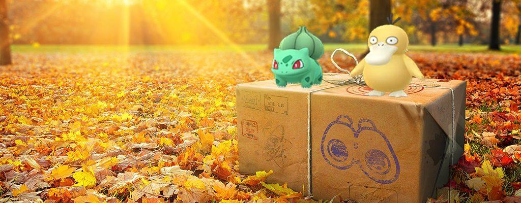 Feldforschung Pokemon GO