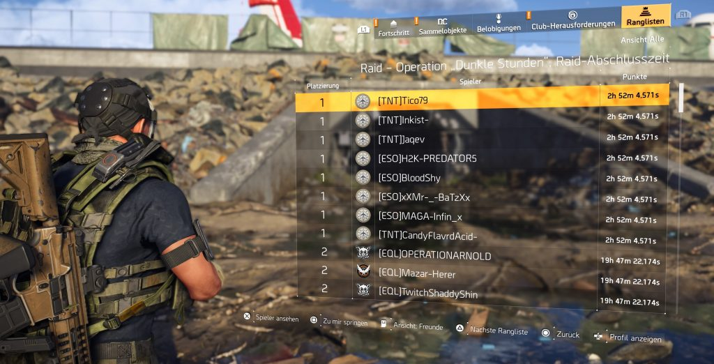Raid at The Division 2 on PS4 was quite impossible, right