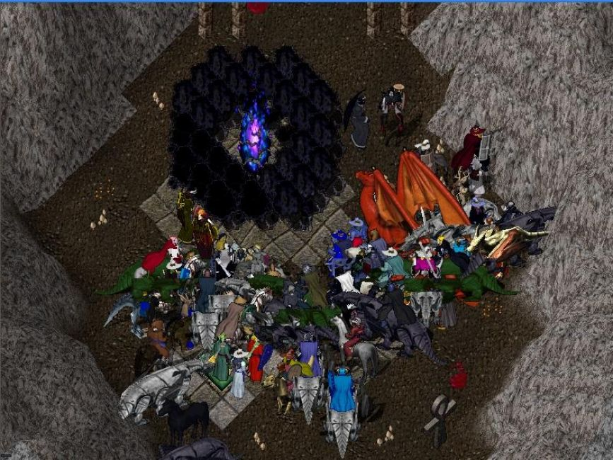Ultima Online Dungeon