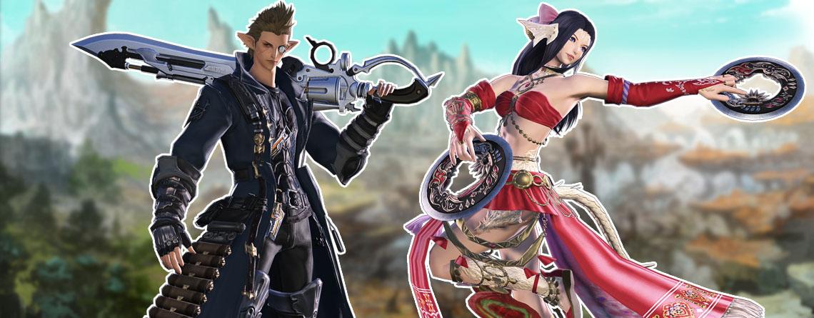 Final Fantasy XIV: So spielen sich die neuen Jobs Tänzer und Revolverklinge