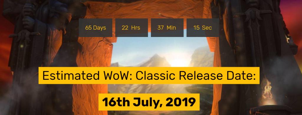 WoW Countdown