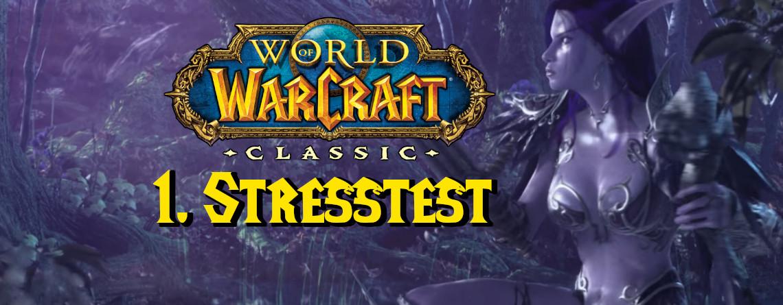 WoW Classic startet 1. Stresstest – bei uns ist der nur für die ganz Harten