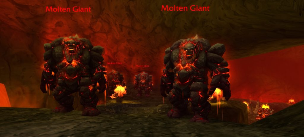 WoW Molten Core Trash Mobs